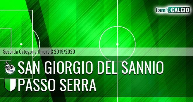 San Giorgio del Sannio - Passo Serra