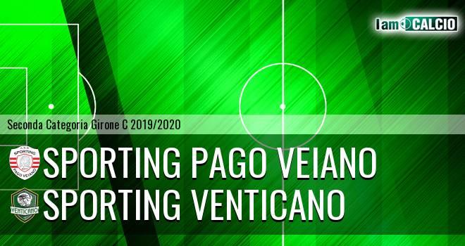 Sporting Pago Veiano - Sporting Venticano