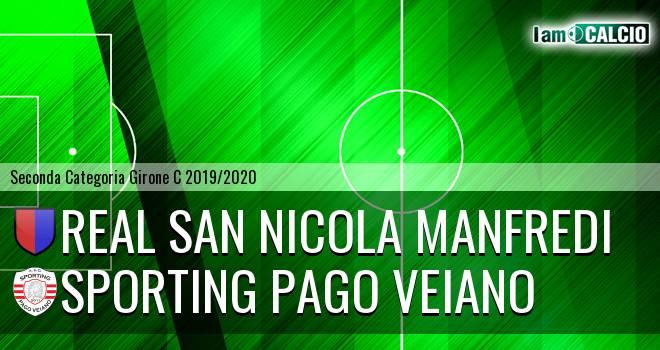 Real San Nicola Manfredi - Sporting Pago Veiano