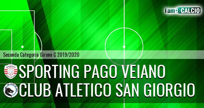 Sporting Pago Veiano - Club Atletico San Giorgio