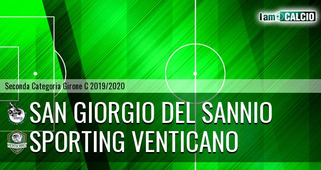 San Giorgio del Sannio - Sporting Venticano