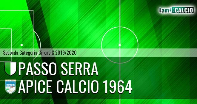Passo Serra - Apice Calcio 1964