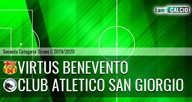 Virtus Benevento - Club Atletico San Giorgio