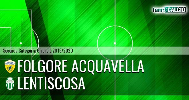 Folgore Acquavella - Lentiscosa