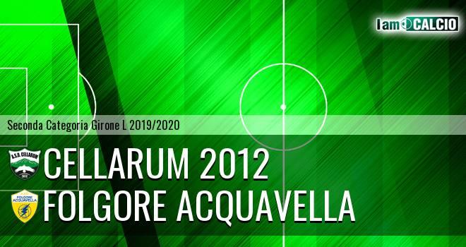 Cellarum 2012 - Folgore Acquavella