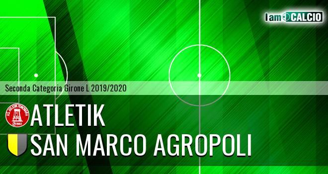 Atletik - San Marco Agropoli