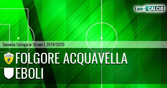 Folgore Acquavella - Sporting Celle