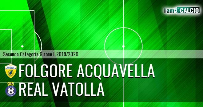 Folgore Acquavella - Real Vatolla