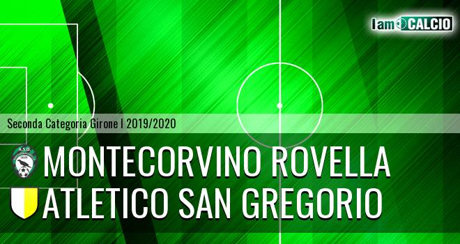 Montecorvino Rovella - Atletico San Gregorio