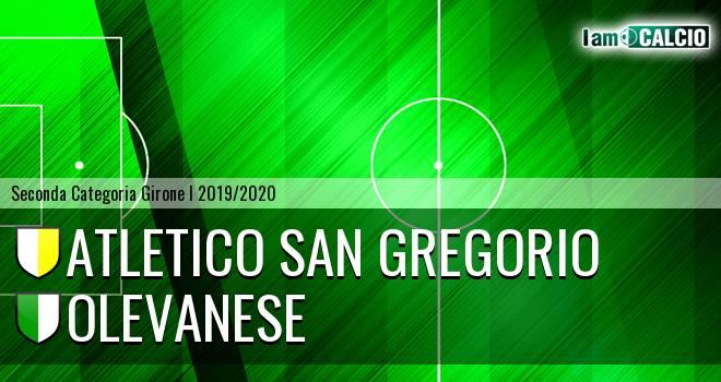 Atletico San Gregorio - Olevanese