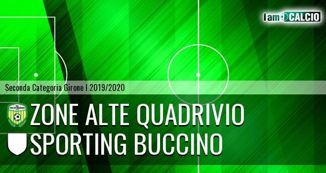 Zone Alte Quadrivio - Sporting Buccino