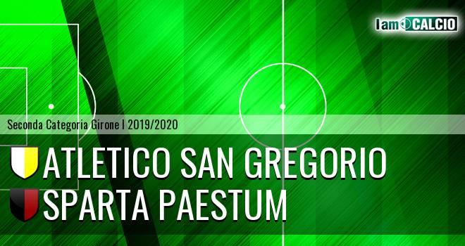 Atletico San Gregorio - Sparta Paestum