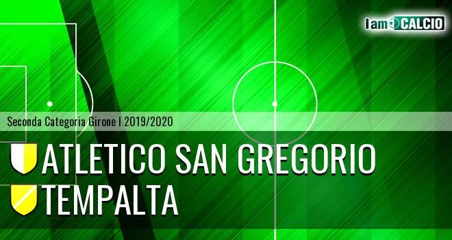 Atletico San Gregorio - Tempalta