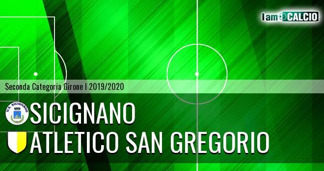 Sicignano - Atletico San Gregorio