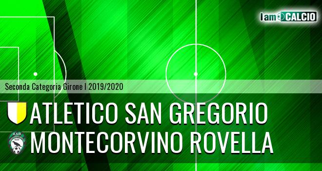 Atletico San Gregorio - Montecorvino Rovella
