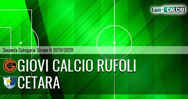 Giovi Calcio Rufoli - Cetara