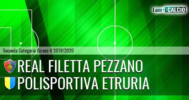 Real Filetta Pezzano - Polisportiva Etruria