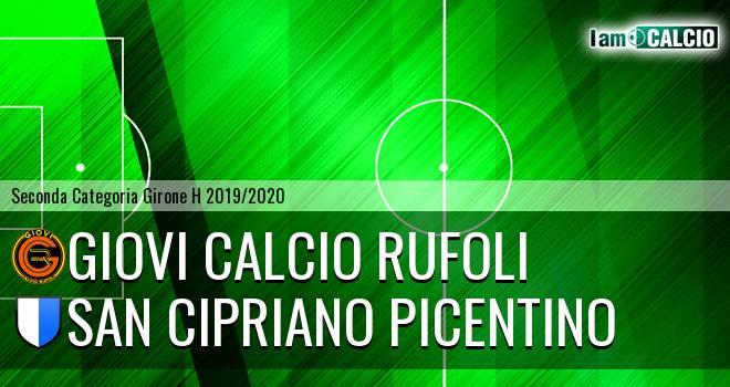 Giovi Calcio Rufoli - San Cipriano picentino