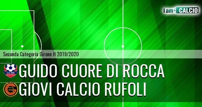 Guido Cuore Di Rocca - Giovi Calcio Rufoli