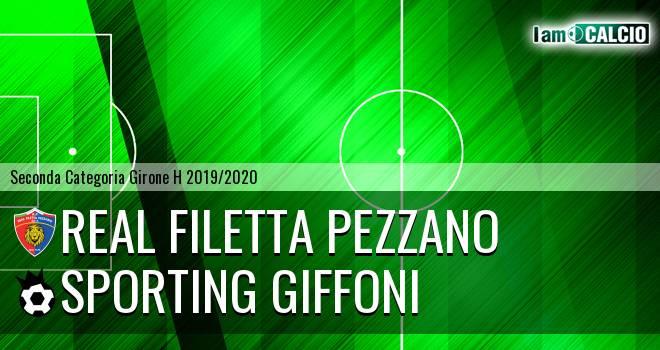 Real Filetta Pezzano - Sporting Giffoni