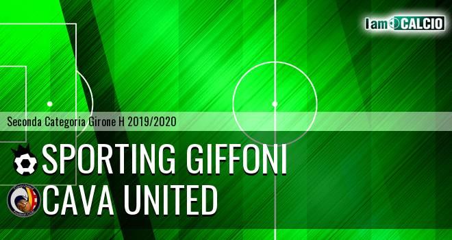 Sporting Giffoni - Cava United