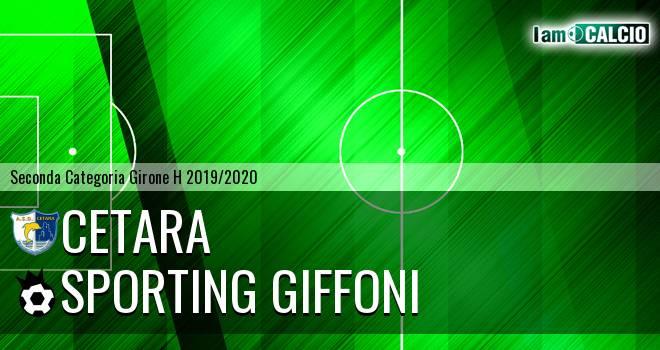 Cetara - Sporting Giffoni