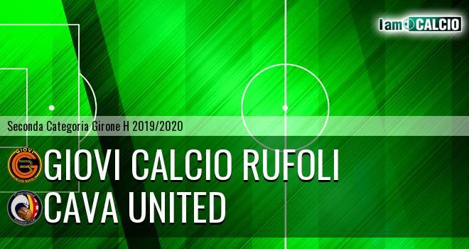 Giovi Calcio Rufoli - Cava United
