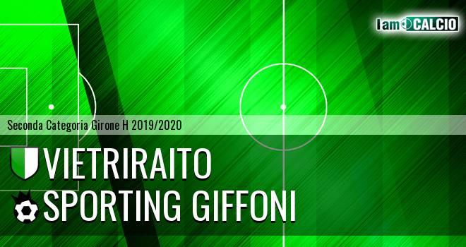 Vietriraito - Sporting Giffoni