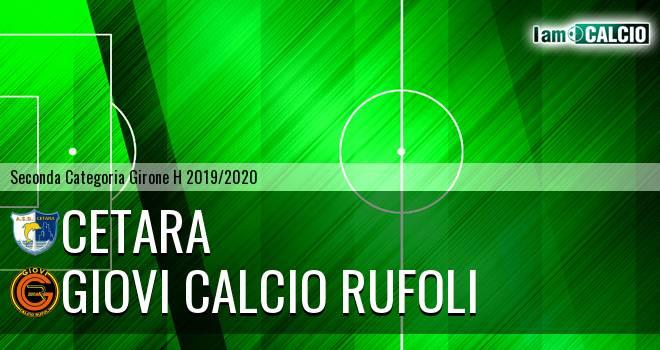 Cetara - Giovi Calcio Rufoli
