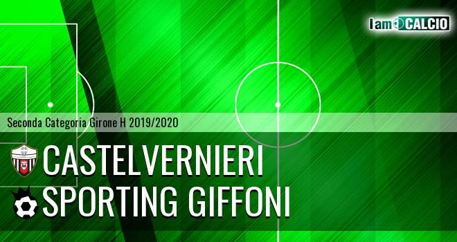 Castelvernieri - Sporting Giffoni