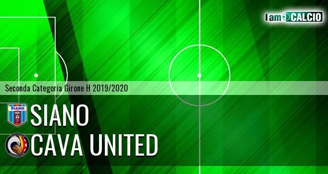 Siano - Cava United