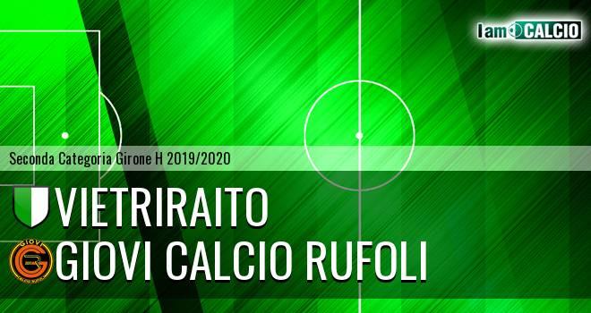 VietriRaito 1970 - Giovi Calcio Rufoli