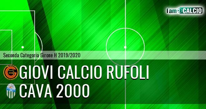 Giovi Calcio Rufoli - Cava 2000