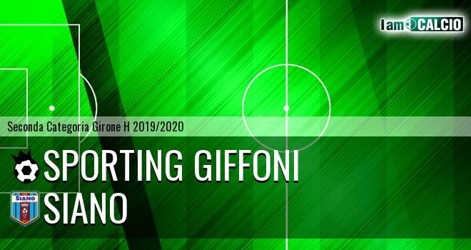 Sporting Giffoni - Siano