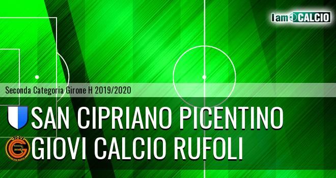 San Cipriano picentino - Giovi Calcio Rufoli