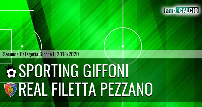 Sporting Giffoni - Real Filetta Pezzano