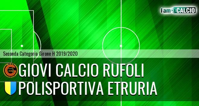 Giovi Calcio Rufoli - Polisportiva Etruria