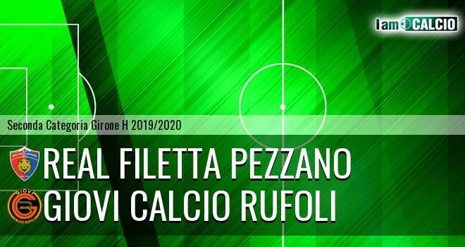 Real Filetta Pezzano - Giovi Calcio Rufoli
