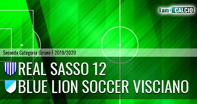Real Sasso 12 - Blue Lion Soccer Visciano