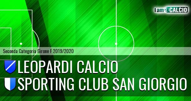 Leopardi Calcio - Sporting Club San Giorgio