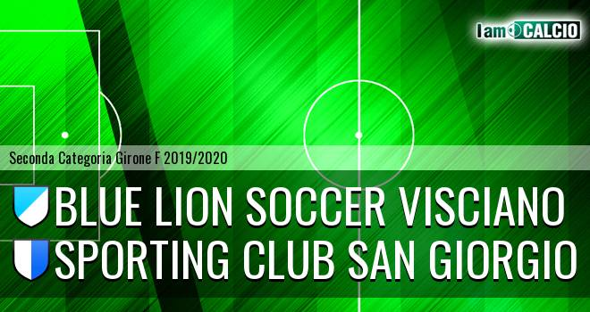 Blue Lion Soccer Visciano - Sporting Club San Giorgio