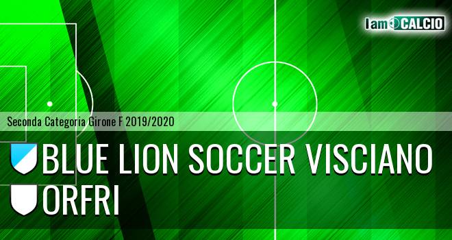 Blue Lion Soccer Visciano - Orfri