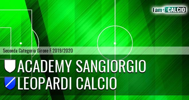 Academy Sangiorgio - Leopardi Calcio
