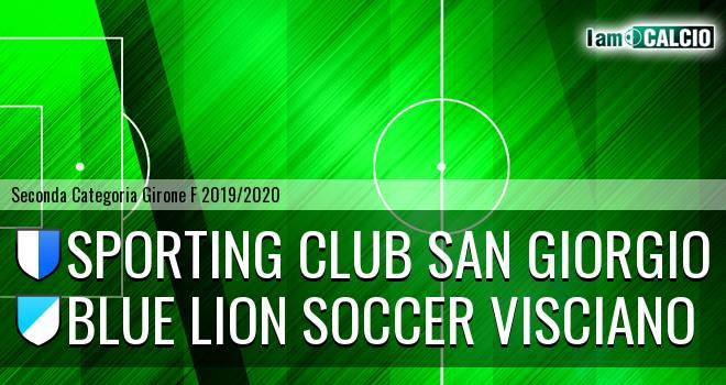 Sporting Club San Giorgio - Blue Lion Soccer Visciano