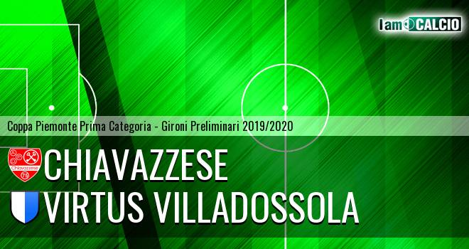 Chiavazzese - Virtus Villadossola 3-0. Cronaca Diretta 07/11/2019