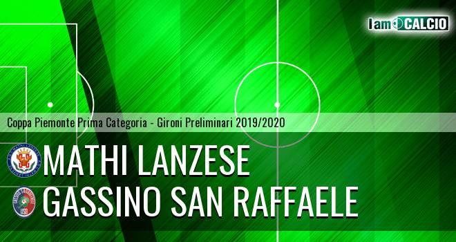Mathi Lanzese - Gassino San Raffaele