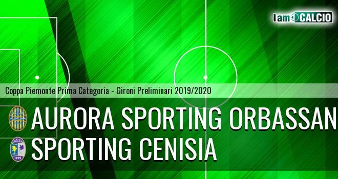 Aurora Sporting Orbassano - Sporting Cenisia