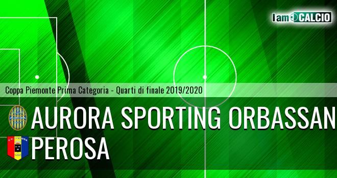 Aurora Sporting Orbassano - Perosa