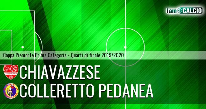 Chiavazzese - Colleretto Pedanea
