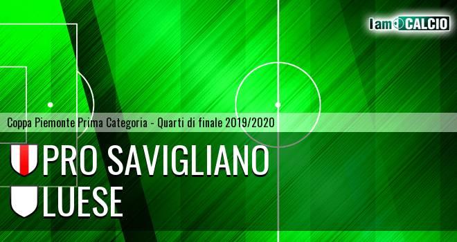 Pro Savigliano - Luese